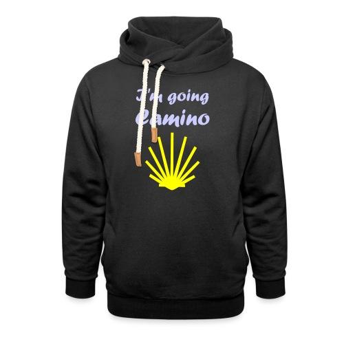 Going Camino - Hoodie med sjalskrave