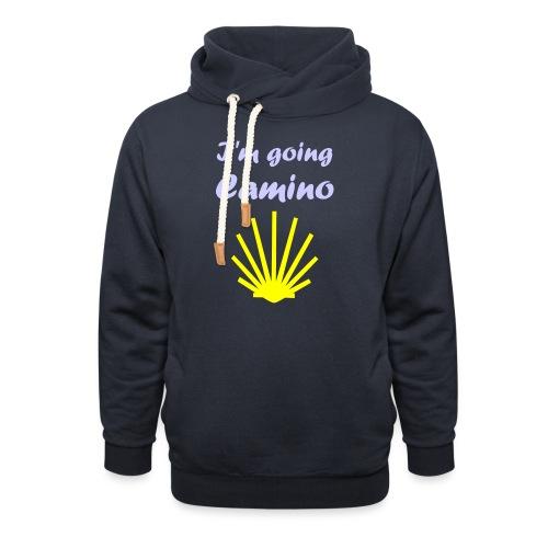 Going Camino - Unisex hoodie med sjalskrave
