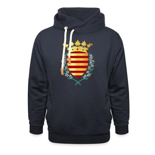 Wapenschild Borgloon - Unisex sjaalkraag hoodie