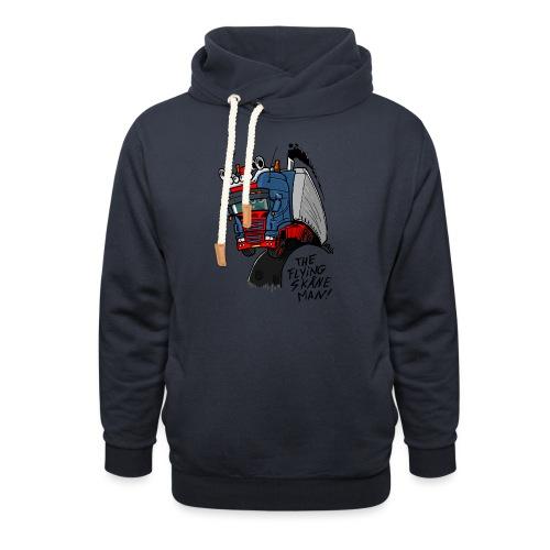 The flying skane man - Sjaalkraag hoodie