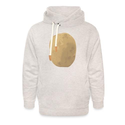 Aardappel - Unisex sjaalkraag hoodie