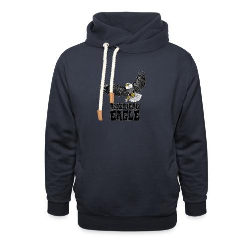 American eagle 2 - Sjaalkraag hoodie