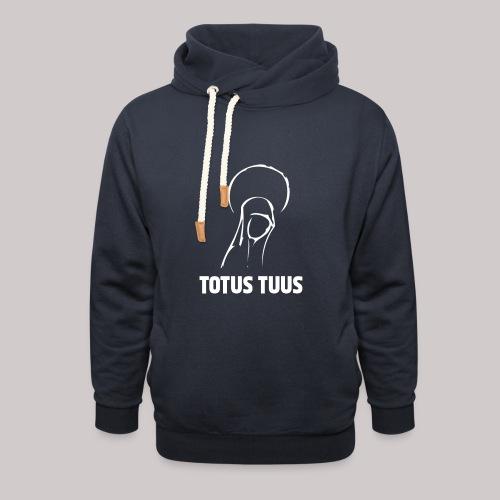 Totus Tuus - Sudadera con capucha y cuello alto