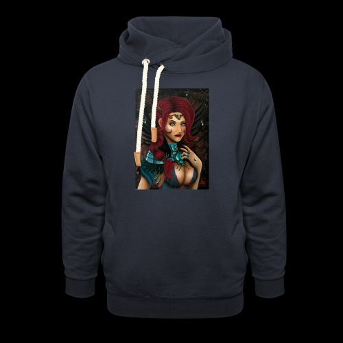 Nymph - Unisex Shawl Collar Hoodie