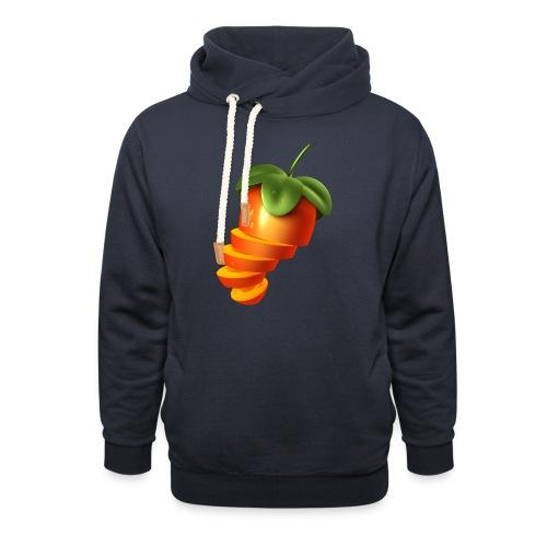 Sliced Sweaty Fruit - Shawl Collar Hoodie
