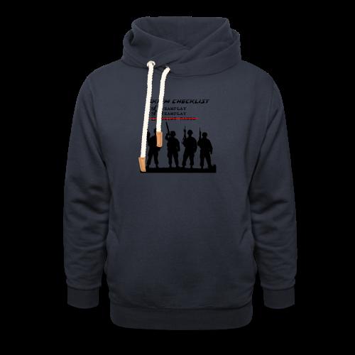 Skirm Checklist - Sjaalkraag hoodie