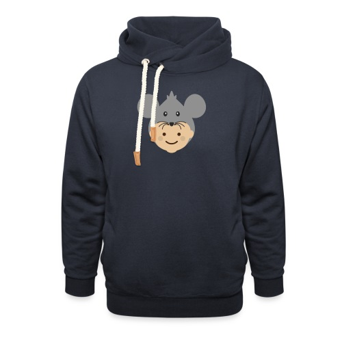 Mr Mousey | Ibbleobble - Shawl Collar Hoodie