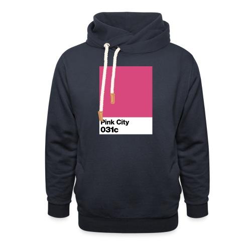 pink city - Sweat à capuche cache-cou