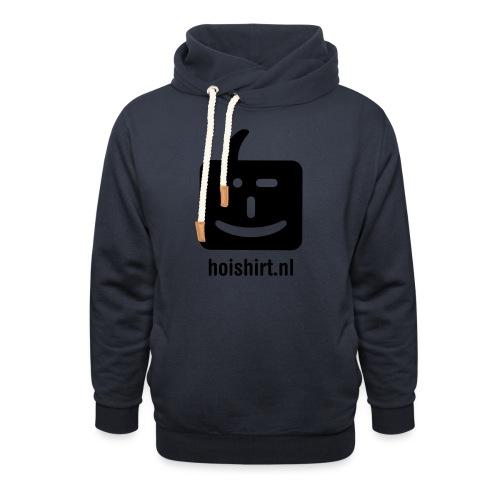 hoi back ai - Sjaalkraag hoodie