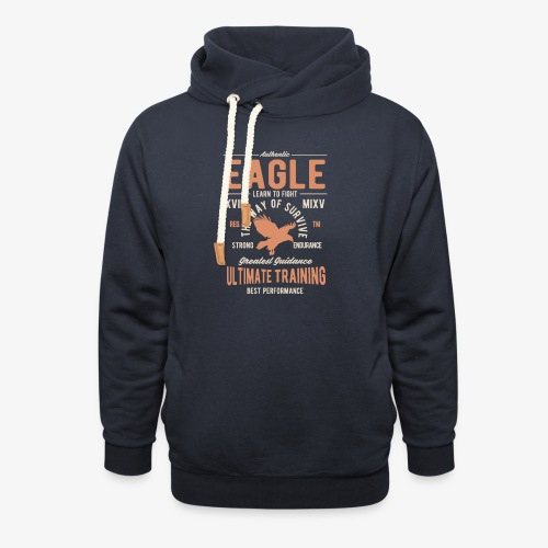 Aigle authentique - Sweat à capuche cache-cou