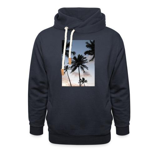 PALMTREES DOMINICAN REP. - Sjaalkraag hoodie