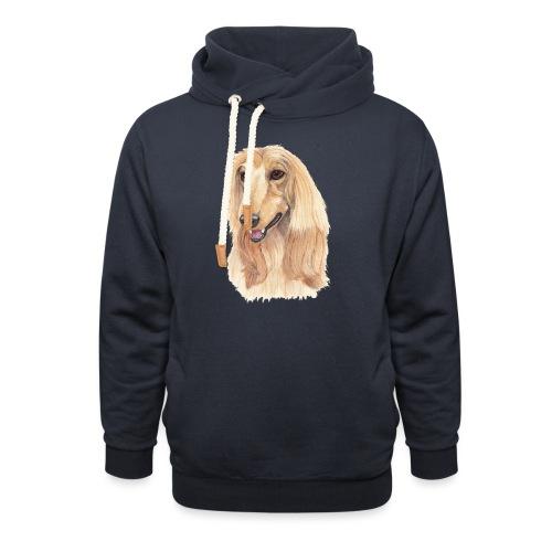 afghanskMynde- A - Unisex hoodie med sjalskrave