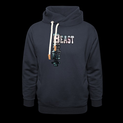 BEAST AND BEAUTY - Sweat à capuche cache-cou