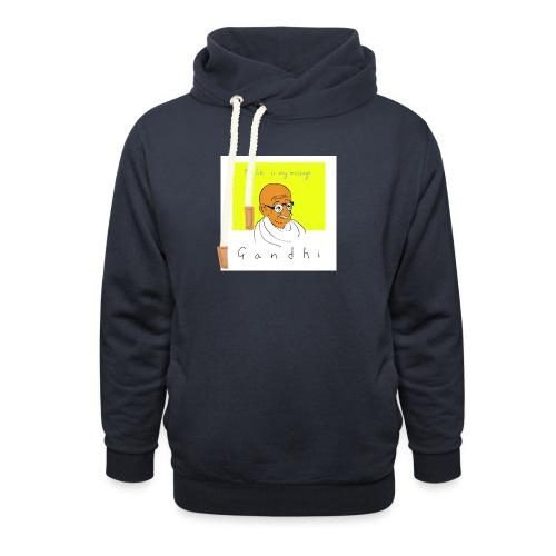 Gandhi - Schalkragen Hoodie