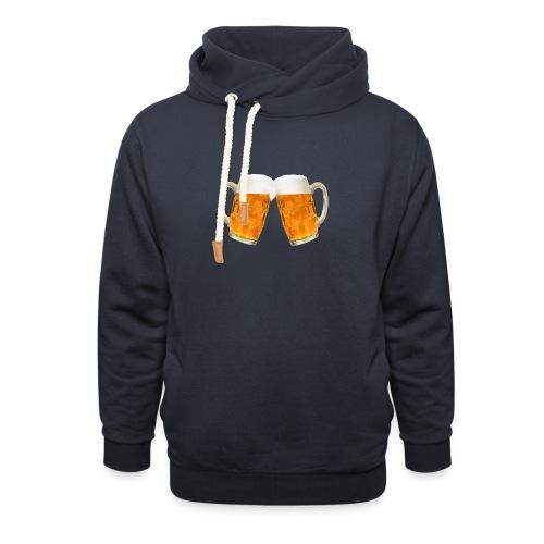 Zwei Bier - Schalkragen Hoodie