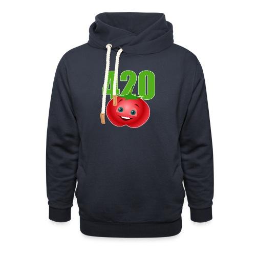 Tomate 420 - Unisex Schalkragen Hoodie