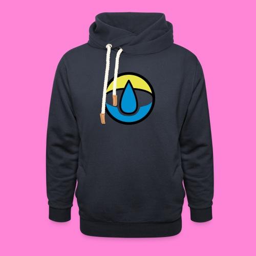 waterpunt - Unisex sjaalkraag hoodie