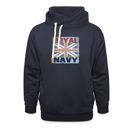 ROYAL NAVY - Unisex Shawl Collar Hoodie