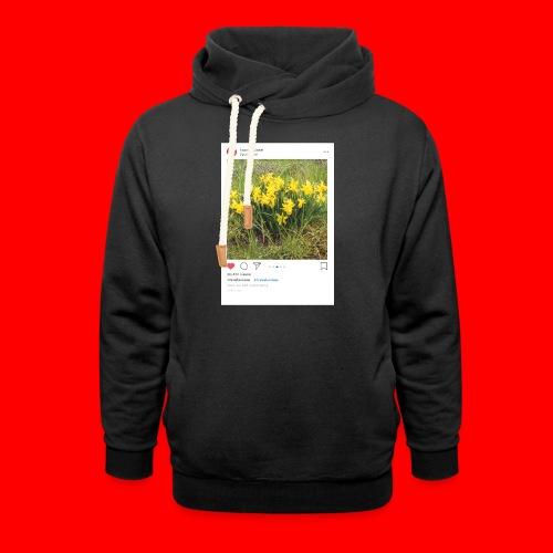 travelsuisse - Blumen Gelb - Schalkragen Hoodie