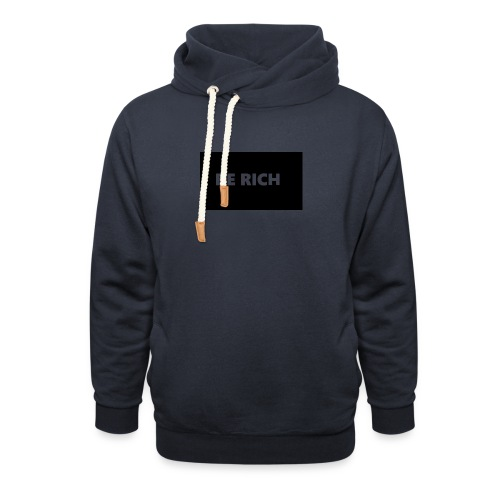BE RICH REFLEX - Sjaalkraag hoodie
