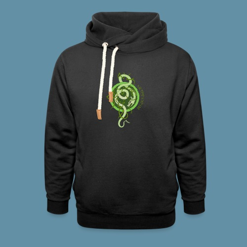 Jormungand logo png - Felpa con colletto alto