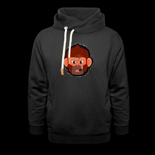 PoGo Mask t-shirt - Hoodie med sjalskrave