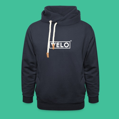 Velo Icon - Charcoal Clr - Shawl Collar Hoodie