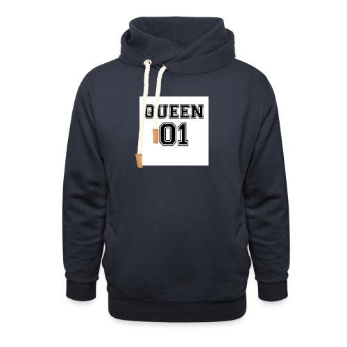 Queen 01 - Sweat à capuche cache-cou unisexe