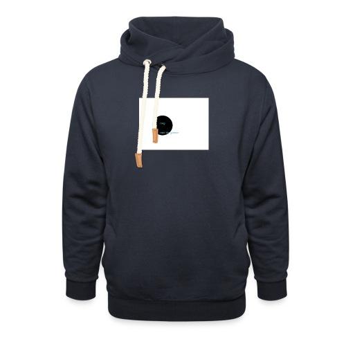 roel de gamer - Sjaalkraag hoodie