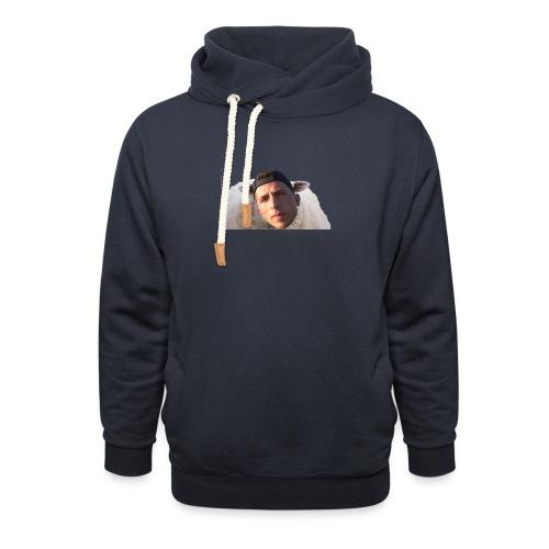 TVS het Armo Schaap en SHIT - Sjaalkraag hoodie