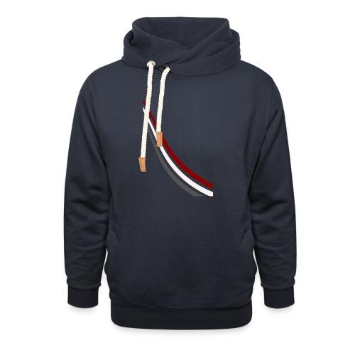 stripes shirt png - Sjaalkraag hoodie
