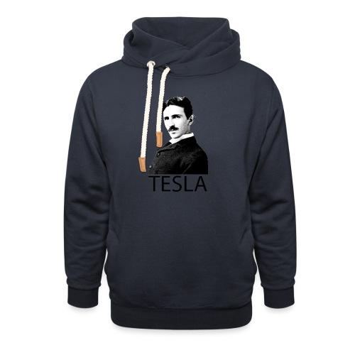 Tesla - Sweat à capuche cache-cou