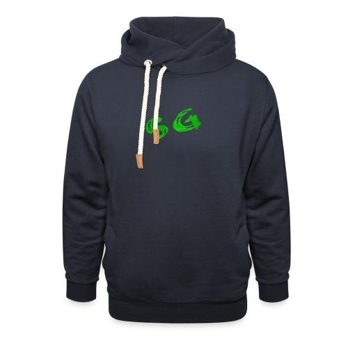 StreamGangster - Unisex sjaalkraag hoodie