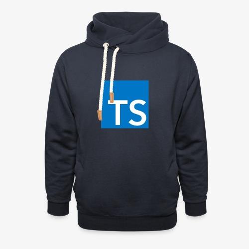 TypeScript Logo - Shawl Collar Hoodie
