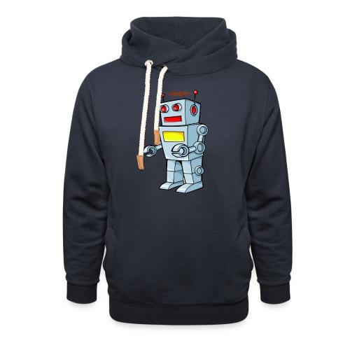 Robot - Felpa con colletto alto