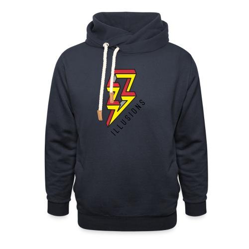 ♂ Lightning - Schalkragen Hoodie