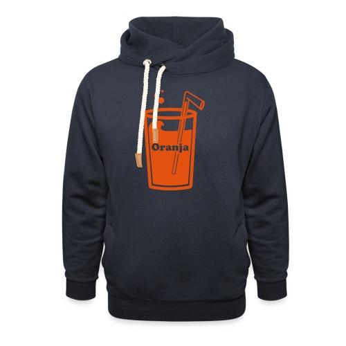 Oranja - Sjaalkraag hoodie