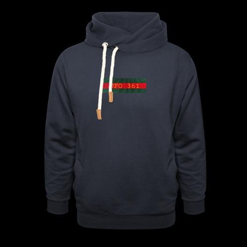 hoodie - Schalkragen Hoodie