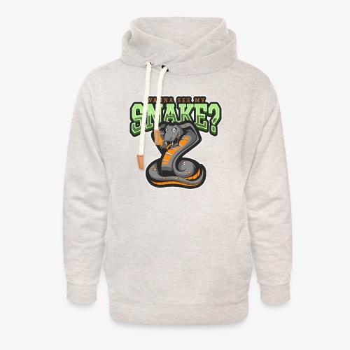 Wanna see my Snake III - Unisex huivikaulus huppari