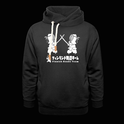 fka team logo white - Unisex huivikaulus huppari