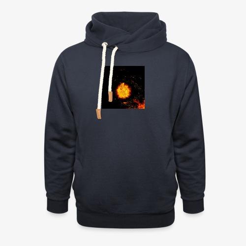 FIRE BEAST - Sjaalkraag hoodie