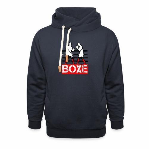 BOXE - Felpa con colletto alto