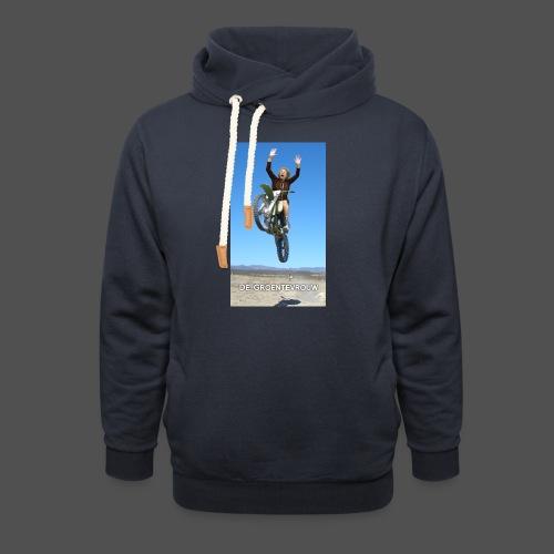 Stuntvrouw (v) - Unisex sjaalkraag hoodie