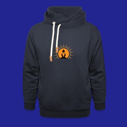Guramylife logo black - Unisex Shawl Collar Hoodie