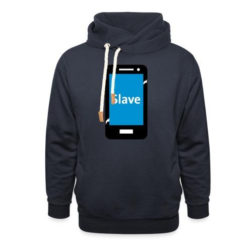 Slave to my phone 1 - Unisex sjaalkraag hoodie