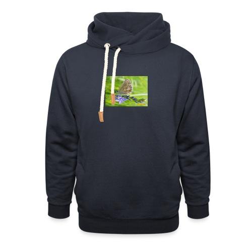 Schmeterling - Unisex Schalkragen Hoodie