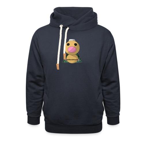 HetWeedleKanaal shirt MAAT S/M/L/XL/XXL - Unisex sjaalkraag hoodie