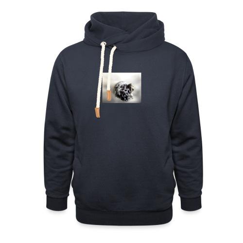cigarette 1270516 640 - Bluza z szalowym kołnierzem