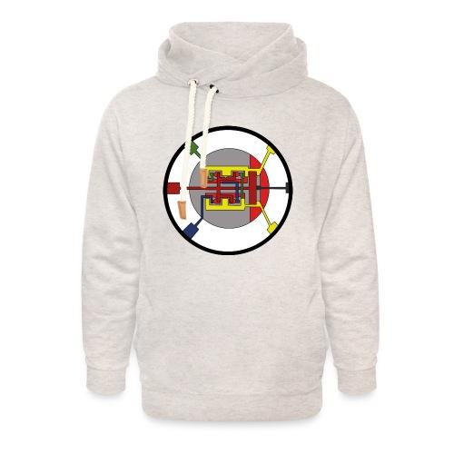 JackJohannes Hemp's Oscillator - Unisex sjaalkraag hoodie