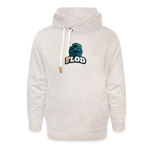 Mijn FloD logo - Unisex sjaalkraag hoodie
